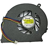 OnlineSBS Laptop CPU Fan Compatible With HP Compaq CQ58 HP 2000 G58 650 655 Series Laptop CPU Cooling Fan