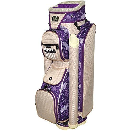 rj-sports-laci-ladies-cart-bag-magenta-9-inch