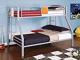 Powell Teen Trends Twin-Over-Full Bunk Bed