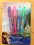 Disney Frozen Mini Gel Pens with Elsa, Anna, Olaf and Sisters Forever, 4 Pack