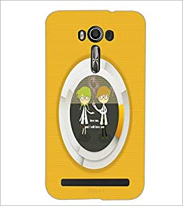 PrintDhaba Quote D-2918 Back Case Cover for ASUS ZENFONE 2 LASER ZE550KL (Multi-Coloured)