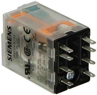 Siemens 3TX7111-3LC03 Premium Plug In Relay, Square Base, Narrow