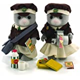 Flair - Sylvanian Families Bus Driver And Conductor