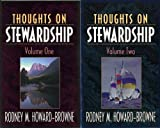 img - for Thoughts on Stewardship ~ Volume One and Volume Two (Two Books) book / textbook / text book