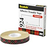Scotch ATG Adhesive Transfer Tape 924 Clear