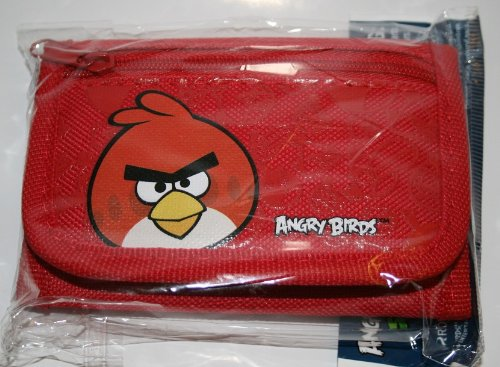 Angry Bird Tri-Fold Red Wallet by Rovio - 1