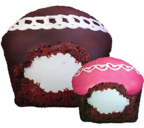 Ideal  Sweet Treats Cream Filled Cupcake Microbead Pillow