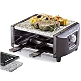 Bob-Home BH2742 Raclette Grill Pierrade Quatro 680Wpar Bob-Home