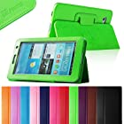 Fintie (Green) Slim Fit Folio Case Cover for Samsung Galaxy Tab 7.0 Plus / Samsung Galaxy Tab 2 7.0 Tablet-Multiple Color Options
