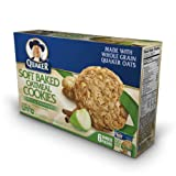 Quaker Soft Baked Oatmeal Cookie, Applie Cinnamon, 8.8-Ounce (Pack of 6)