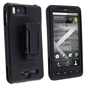 Body Glove Glove Snap-On Case for Motorola DROID X (Black)