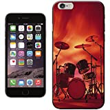 Rocking Rock Band Drum Set with Cymbals Hard Case for Apple iPhone 6 Plus