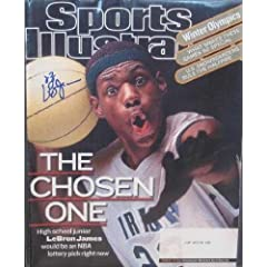 Buy Lebron James autographed Sports Illustrated Magazine (Cleveland Cavaliers) by Autograph Warehouse