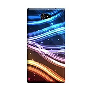 CaseLite Premium Printed Mobile Back Case Cover With Full protection For Sony Xperia M2 (Designer Case)