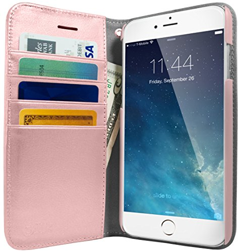 silk-iphone-7-plus-wallet-case-folio-wallet-for-iphone-7-synthetic-leather-kickstand-flip-cover-rose