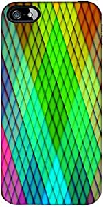 Snoogg Rainbow Diamond Pattern 2689 Designer Protective Back Case Cover Forfo...