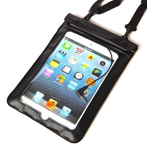 Axstyle iPad mini 3 / iPad mini 2 / iPad mini Retina 対応 水深10M スタイリッシュ 防水ケース Waterproof case Axstyle Cleaning Cloth 付属 ストラップ付 オリジナルモデル