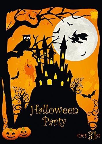 10 er set gruselige halloween einladungskarten von edition colibri umweltfreundlich da. Black Bedroom Furniture Sets. Home Design Ideas