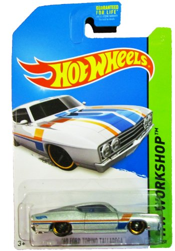 Hot Wheels - 2014 HW Workshop - 235/250 - Muscle Mania - '69 Ford Torino Talladega