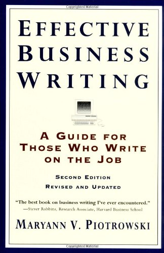 Business Writer's Free Library