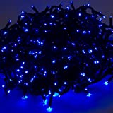 480 Blue Outdoor LED Cluster Lights