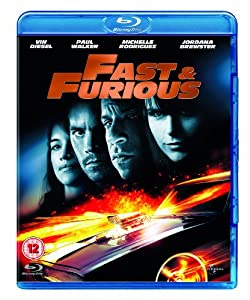 fast furious blu ray vin diesel paul walker michelle rodriguez jordana. Black Bedroom Furniture Sets. Home Design Ideas