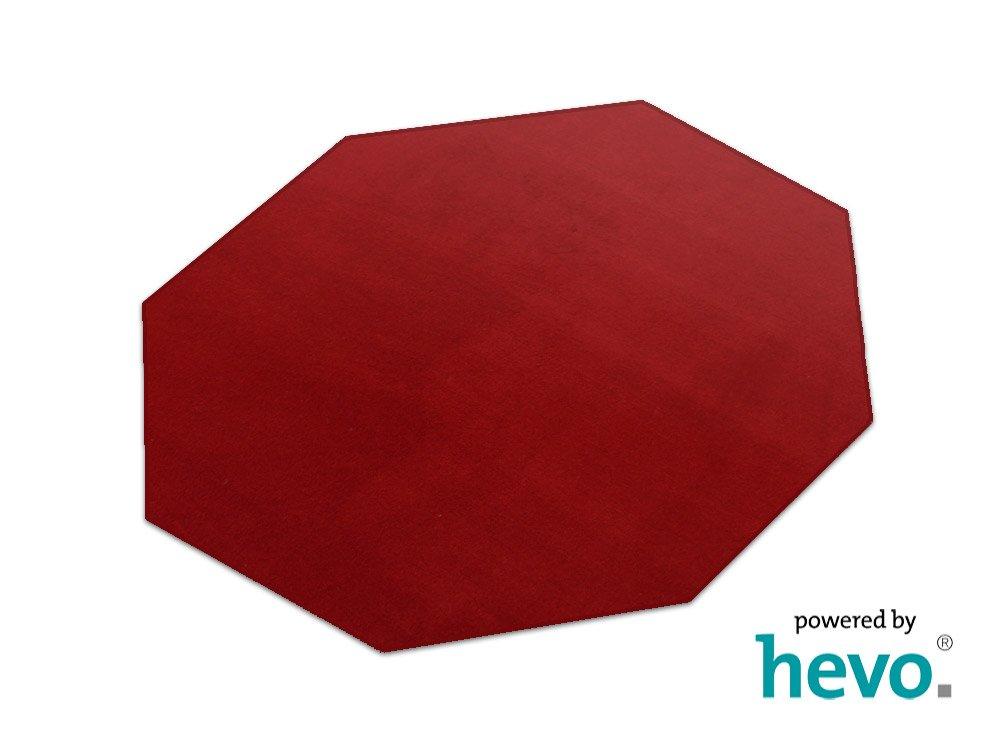 Romeo rot HEVO ® Teppich | Kinderteppich | Spielteppich 200 cm Achteck    Bewertungen und Beschreibung
