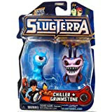 Slugterra SERIES 2 Mini Figure 2-Pack Chiller & Grimmstone [Includes Code for Exclusive Game Items] by Animewild