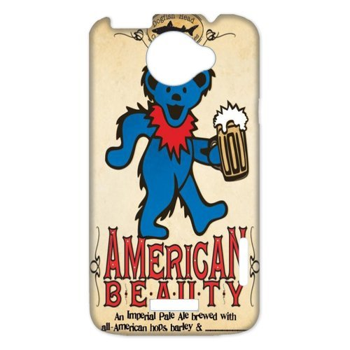 Generic Cell Phones Cover For Htc One X Case Customize Music Band Grateful Dead And Dancing Bears Hard Snap On Phone Cases