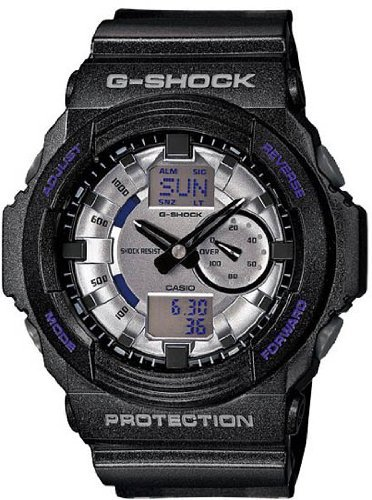 Casio G-Shock GA-150MF-8A Analog Digital Watch - Black