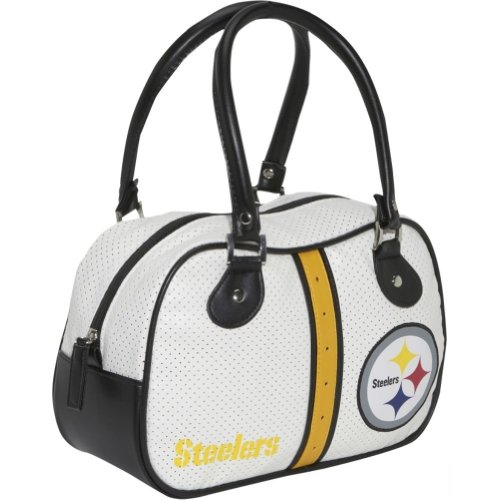 Concept One NFL Pittsburgh Steelers Ethel Bowler, White at SteelerMania