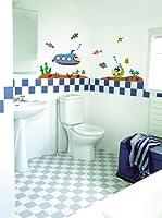 Ambiance Live Vinilo Decorativo Submarine for a child's room Multicolor