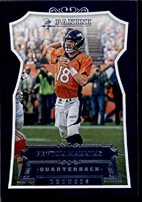 2016 Panini #176 Peyton Manning Denver Broncos Football Card-MINT