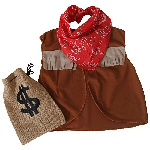 Cowboy / Cowgirl Costume Dress Up Accessory Set - 1
