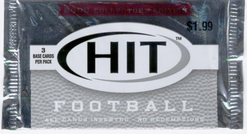 2006 Sage HIT Football Pack (3 Cards/Pack) - GREAT DEAL! 3 Rookies in Every Pack! NFL Trading Cards (Look for Random Autograph Cards)