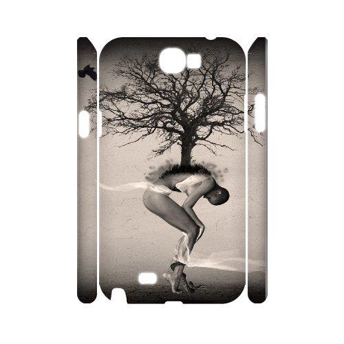 Samsung Galaxy Note 2 N7100 Creative Design 3D Art Print Design Phone Back Case Hard Shell Protection Aq048617