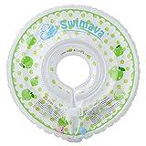 Swimava 【日本正規品60日保証】うきわ首リング(アップルグリーン) SW120AG