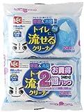 トイレに 流せる クリーナー Ag+ 24枚入×2パック