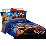 WWE Wrestling Champions Twin Sheet Set