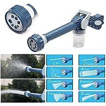 BERRY EZ Jet Water Cannon 8-in-1 Turbo Water Spray Gun (Blue)