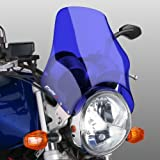 Fly screen Puig Naked blue for Honda CB Seven Fifty/ 500/ 1000/ 1300, CB-1, CBF 250/ 500/ 600, Hornet 600/ 900, NTV 650 Revere, VTR 250, X4