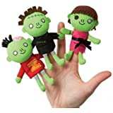 Manhattan Toy Freaky Bunch Finger Puppets Set Of 3
