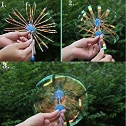 5PCS Colorful Shake Toy Great Sparkling Fantasy Bubble Toys Outlandish Gadgets