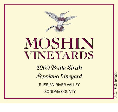 2009 Moshin Vineyards Petite Sirah 750 Ml