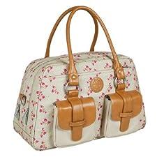 Lï¿œssig Changing Bag Vintage Metro Bag Rosebud Fairytales by Lï¿œssig