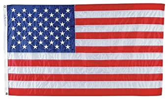 Impact 9546 Nylon United State Flag, 6' Width x 4' Height, Red/White/Blue (Case of 12)