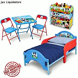 Disney 39 S Mickey Mouse Clubhouse Bedroom Furniture Set Toddl