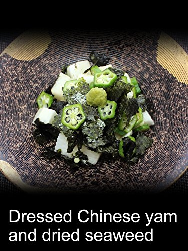 Dressed Chinese yam and dried seaweed