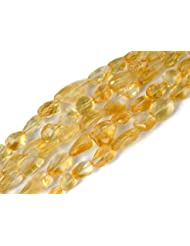 Sumit 1 Strand Natural Citrine Faceted Nuggets Beads Strand,8x10-10x20mm Beads,Faceted Drilled Beads,Jewelry Making...