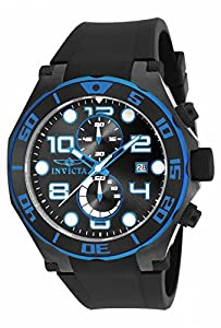 Invicta Men's 17816 Pro Diver Quartz Multifunction Black Dial Watch